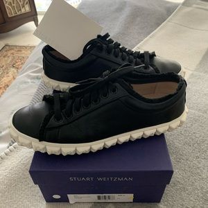 🚨 SALE Stuart Weizmann leather sneakers